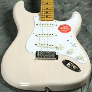 Squier by Fender / Classic Vibe 50s Stratocaster Maple Fingerboard White Blonde 【傷ありアウトレット特価】【S/N ISS2017059】