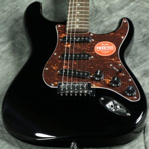Squier by Fender / Affinity Stratocaster Laurel Fingerboard Black with Tortoiseshell Pickguard スクワイヤー【傷ありアウトレット特価】【S/N CSSA20011597】