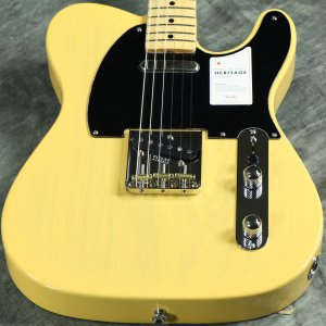 Fender / Made in Japan Heritage 50s Telecaster Maple Butterscotch Blonde 《純正ケーブル&ピック1ダースプレゼント!/+661944400》 【S/N JD20001803】
