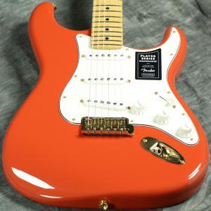 Fender / Limited Edition Player Stratocaster Fiesta Red Gold Hardware 《カスタムショップケアキットプレゼント!/+671038200》