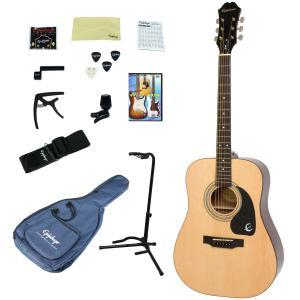 Epiphone / DR-100 NA(Natural) 【アコースティックギター入門14点セット】 エピフォン アコギ フォークギター 初心者 DR100