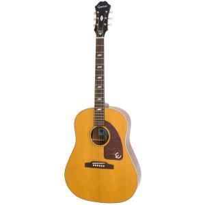 (タイムセール:29日12時まで)(在庫有り) Epiphone / Inspired by 1964 Texan AN (Antique Natural) (アウトレット特価)アコースティックギター(/+811162500) ishibashi
