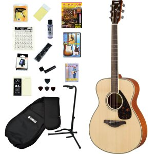 YAMAHA / FS820 NT(ナチュラル) (オールヒット曲歌本17点入門セット) ヤマハ アコースティックギター アコギ FS-820 初心者(YRK)(+2308111820004)|ishibashi