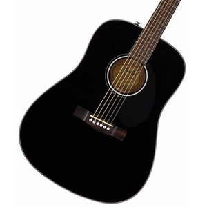 FENDER Acoustic / CD-60S Dreadnought Walnut Fingerboard Black アコースティックギター【アウトレット特価】