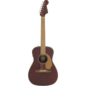 Fender Acoustic / Malibu Player Walnut Fingerboard Burgundy Satin フェンダー アコースティックギター エレアコ アコギ【アウトレット特価】