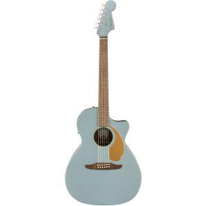 Fender Acoustic / Newporter Player Walnut Fingerboard Ice Blue Satin アコースティックギター エレアコ(YRK)(お取り寄せ商品/12月初旬入荷予定) ishibashi