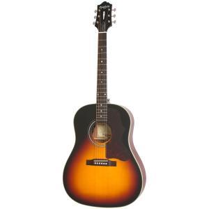 EPIPHONE Masterbilt AJ-45ME Vintage Sunburst Satin アコースティックギター (アウトレット特価/2nd)(純正アクセサリーセット進呈 /+811162500)|ishibashi