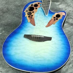 Ovation / Celebrity Elite Exotic Super Shallow CE48P-RG 【実物画像/未展示品】《プレゼントあり!/+set79094》 オベーション セレブリティ アコースティックギター エレアコ CE-48P 【S/N CCV19050650】