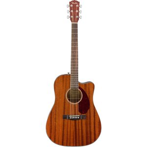 Fender Acoustic / CD-140SCE All-Mahogany Dreadnought Walnut Fingerboard 【ハードケースつき!】 【アウトレット特価】フェンダー CD14SCE