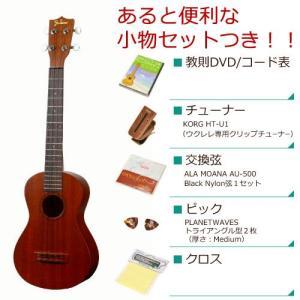 Famous フェイマス / FC-1 (あると便利な小物セットつき ) コンサート ウクレレ FC1(お取り寄せ商品)(送料無料)|ishibashi