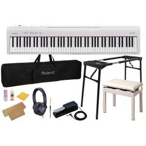 Roland ローランド / FP-30 WH(コンプリートセット)ホワイト 電子ピアノ(FP30)(WEBSHOP)|ishibashi