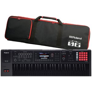 Roland ローランド / FA-06B(数量限定)ブラック鍵盤モデル(背負えるケース付き:811133600)(YRK)|ishibashi