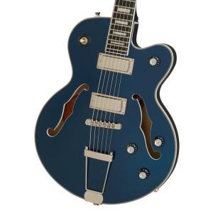 (在庫有り) Epiphone / Uptown Kat ES Sapphire Blue Metallic (純正アクセサリーセット進呈 /+2308111624008) エピフォン エレキギター セミアコ ホローボディ|ishibashi
