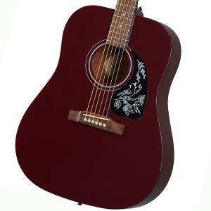 (在庫有り) Epiphone / Starling Hot Wine Red (WR) (純正アクセサリーセット進呈/+2308111625005) エピフォン アコースティックギター フォークギター アコギ|ishibashi