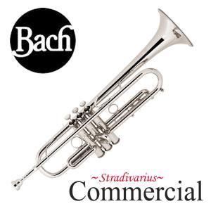 Bach / COMMERCIAL バック LT190S1B SP コマーシャル シルバーメッキ仕上げ B♭トランペット(お取り寄せ)(5年保証)|ishibashi