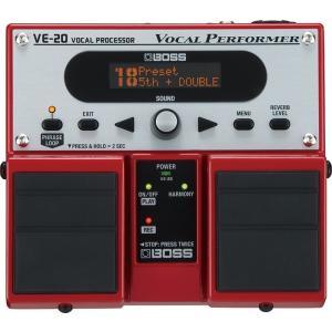 (在庫有り) BOSS / VE-20 VOCAL PROCESSOR  ボス ボーカル用エフェクター VE20 (YRK)(+2307117130001)|ishibashi