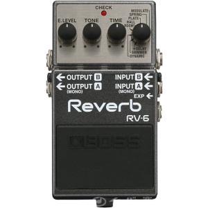(ご購入特典つき!) BOSS / RV-6 ボス エフェクター リバーブ RV6 (YRK)(+80-set12101)(+2307117130001)|ishibashi