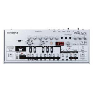 (在庫あり)Roland ローランド / Boutique TB-03 Bass Line ベースライン(YRK)(Boutiqueに使える電源アダプタープレゼント:4511677096075)|ishibashi