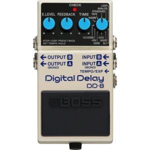 (ご購入特典つき!)(在庫有り) BOSS / DD-8 Digital Delay ボス ディレイ エフェクター DD8(YRK)(+80-set12101)(+2307117130001)|ishibashi