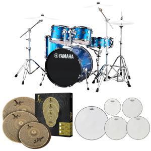 YAMAHA / RDP0F5 FB ライディーン 20BD ドラムセット ローボリュームシンバルとREMOメッシュヘッドセット【お取り寄せ商品】