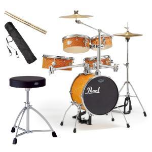 Pearl 小型 ドラムセット RT-645N/C-439 ...