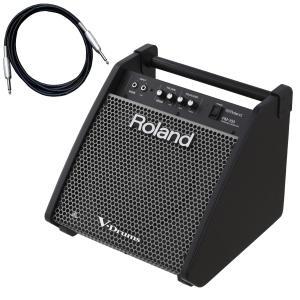 Roland 電子ドラム用モニタースピーカー PM-100 カナレ接続ケーブルセット(YRK) ishibashi