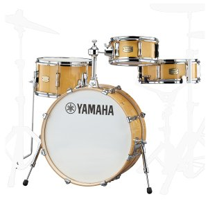 YAMAHA / SBP0F4HNW ヤマハ ステージカスタムヒップ ドラムシェルセット / ハードウェアとシンバル別売《予約注文/5月23日発売予定》