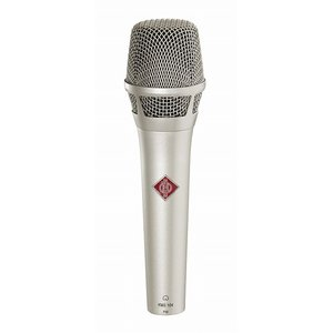 KMS 104 マイクロフォンは、厳しい条件のライブ ステージでの人間の声を最適に伝送するために開発...