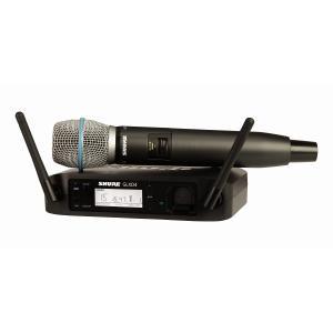 SHURE シュア / GLXD24/BETA87A GLX-D ハンドヘルド・ワイヤレスシステム (キャッシュバックキャンペーン!)(お取り寄せ商品)(送料無料)