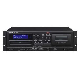TASCAM / CD-A580 (業務用カセットレコーダー/CDプレーヤー/USBメモリーレコーダー)(お取り寄せ商品)(WEBSHOP)|ishibashi