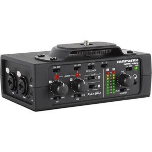 MARANTZ マランツ / PMD-602A デジタル一眼レフカメラ用オーディオインターフェイス(お取り寄せ商品) ishibashi