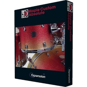 fxpansion / BFD3/2 Expansion Pack: Maple Custom Kit(オンライン納品専用)代引不可(BFD Expansions & Grooves50%OFFプロモーション)の商品画像|ナビ