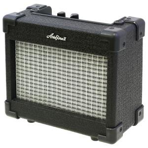 手軽に使えるミニアンプ。 電池で駆動するエレキギター用小型アンプ。オーバードライブスイッチ、ヘッドフ...