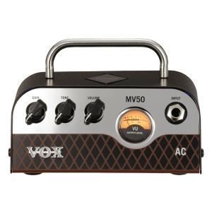 VOX / MV50 AC ボックス ギターアンプ Nutube搭載 ヘッドアンプ (WEBSHOP)(YRK)(お取り寄せ商品)|ishibashi