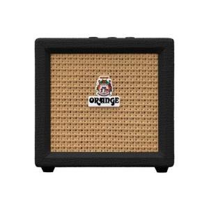 ORANGE / Crush Mini (ブラック) 【3W ミニアンプ】 オレンジ ギターアンプ ミニアンプ CRUSH-MINI-BK 【お取り寄せ商品】