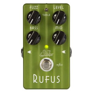 Suhr Rufus, 1969年のFillmore East Fuzz派からグランジ系Fuzz派だ...