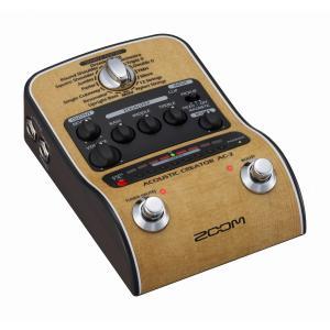 ZOOM / AC-2 Acoustic Creator ズーム アコースティックギター用プリアンプ (ACアダプタ付属)|ishibashi