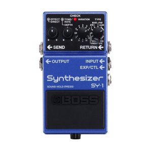BOSS / SY-1 Synthesizer (予約注文/10月下旬入荷予定)(9Vマンガン電池2個プレゼント/+681215700×2)(WEBSHOP)|ishibashi