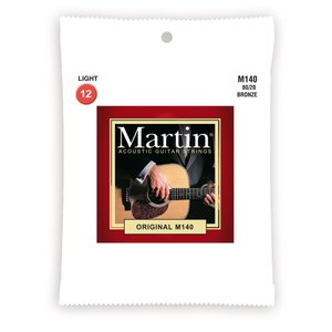 Martin / ORIGINAL M140 【The Original】 マーチン マーティン アコースティックギター弦 アコ弦 ブロンズ M-140 【お取り寄せ商品】