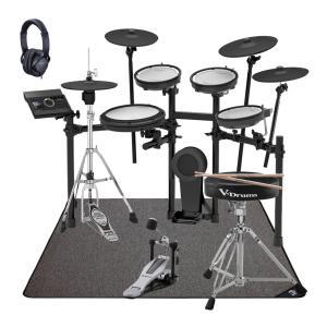 (在庫あります)Roland 電子ドラム TD-17KVX-S ドラムアクセサリーパック SELVAマットセット(YRK)(WEBSHOP)|ishibashi