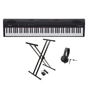 Roland / GO-88P(GO:PIANO88)(スタンド&ヘッドホンセット)88鍵盤 エントリー・キーボード(YRK)|ishibashi