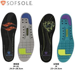 SOFSOLE ソフソール シンフィット プラス 衝撃吸収インソール メンズ レディース 1組2個入...