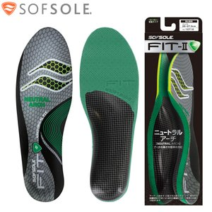 SOFSOLE ソフソール フィットFIT-2 ニュートラルアーチ インソール 男女兼用 XS〜XL...