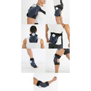 【MEDILEPO】メディレポ オールボディ アイシング サポーター 氷のう一体型 冷温ケア(ABI-01) 肩 背中 腰 首 肘 膝 足首 腿 脛 腹部 全身 熱中症 対策 冷却 冷 ishidasp