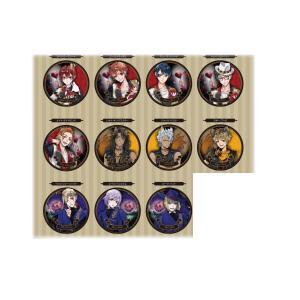 スモTWL-5580659AS【クジ】【ディズニーキャラクター】缶マグネットA【ツイステッドワンダーランド】【マレウス】【カリム】【ヴィル】【イデア】 【リドル】…|ishidaya-co