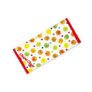 ティCC-5538120RD【チュッパチャプス】プリントフェイスタオル【レッド】【Chupa Chups】【あめ】【あめちゃん】 【お菓子】【タオル】【たおる】【生活雑貨】…|ishidaya-co