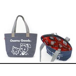 ナカ155269-21【オサムグッズ】【OSAMU GOODS】 ミニトート【EDWIN】【ドーナツ】【オサム】【キャラクター】【かばん】【鞄】【カバン】【バッグ】【トート】…|ishidaya-co