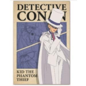 名探偵コナン ポストカード フレームベージュ 怪盗キッドの商品画像 ナビ