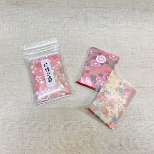 にほひ袋 千代紙1枚 タンス用防虫香 柄 箱なし 京都三条 石黒香舗|ishiguro-kouho