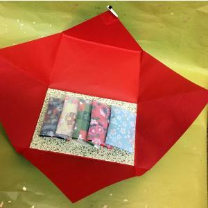 にほひ袋 千代紙5枚 たと紙箱入り タンス用防虫香 柄 京都三条 石黒香舗|ishiguro-kouho